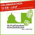 Logo 10. Schlösserlauf Potsdam