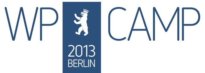 #wpcb13 – WP Camp 2013 Berlin