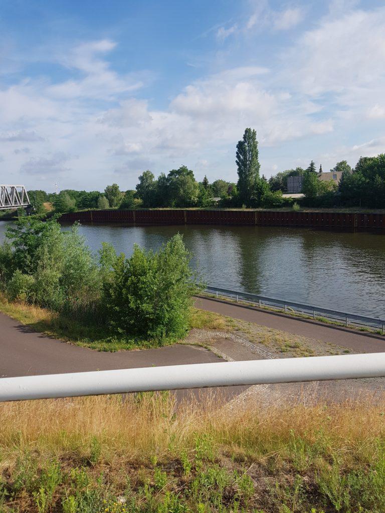 Blick über den Elbe-Havel-Kanal